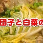 聞き流し料理レシピ (簡単料理レシピ ☆ 肉団子と白菜の鍋)