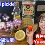 【料理レシピ】刺身の醤油漬け Sashimi pickled in soy sauce アメリカのロサンゼルスに住む日本人・青井ゆかりの日本人の口に合う簡単・お手軽世界の料理レシピ