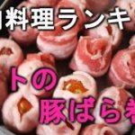 豚肉料理ランキング,豚肉,レシピ,人気,簡単,cat25net,猫ニャーゴ
