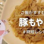 【時短レシピ】究極のタレで作る豚もやし【これだけでご飯何杯もいける】