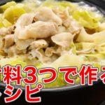 【主材料3つ以内】簡単おいしい鍋レシピ5選【お一人様にも】