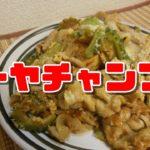 【簡単レシピ】沖縄料理ゴーヤチャンプル【Bitter gourd Chample】