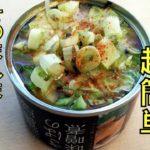 【ちゃんちゃん焼き】をさば缶で簡単に作りました。鮭と鯖は身質が似ている気がするのは自分だけ?簡単料理。さば缶レシピ。