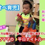 【ワンオペ育児】超リアル!子育てママのナイトルーティン!