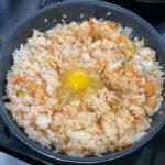 【簡単キムチ雑炊】残り物で作るレシピ【キムチチーズリゾット風】