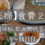 【夫婦】1ヶ月食費2万節約生活。9〜11日目
