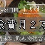 【夜白米ナシ】満足できる節約生活。21〜24日目