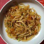 大根の皮のきんぴら レシピ 簡単 食 作り方 レクチャー 基本 料理 家庭料理のプロ  献立 ハウツー レビュー チュートリアル 節約料理 美味しい 人気 家庭料理 主婦に優しい