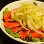 【簡単】絶品サーモンのカルパッチョの料理レシピ