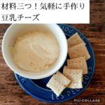 【ヴィーガンレシピ】豆乳でできる簡単チーズ
