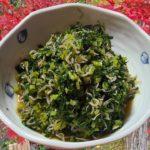 大根の葉 レシピ 料理 作り方 簡単 レクチャー 基本 料理 家庭料理のプロ 大根の葉とちりんじゃこ 大根の葉炒め物の作り方 献立 ハウツー レビュー チュートリアル プレゼンテーション動画 美味しい