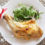 【平野レミさんのローストチキンのレシピで】超簡単!オーブンで焼くだけ【NHKきょうの料理で話題のクリスマスチキン】