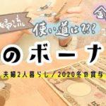 【給料日ルーティン】冬のボーナスの使い道と仕分け/貯金/節約