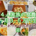 【節約】料理が苦手な主婦が1ヶ月の食費3.5万円を目指します/画像のみ/9~14日目