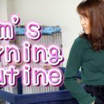 【保育園の日】2児ママのモーニングルーティン(起床〜昼食まで)
