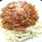 簡単本格人気ミートソース(スパゲッティミートソース)レシピ・作り方(オンライン料理教室)