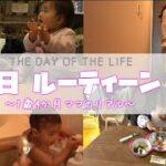 【1日ルーティン】1歳4か月ママのワンオペ|A day of the life