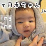【モーニングルーティン】生後1ヶ月赤ちゃんと24歳新米ママのほのぼのリアル田舎子育て♪女の子ベビー【moaning routine】