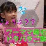 【ルーティン】ドジママのバタバタ晩ご飯劇 〜3歳娘もママにドン引き〜
