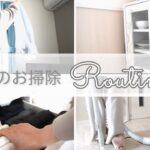【朝のお掃除ルーティン】時短/子育てママ/リビング/キッチン/トイレ