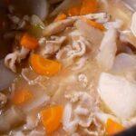 【豚汁】本当に美味しい豚汁の作り方 基本の料理