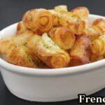 くるくるフライドポテトの作り方☆材料3つで簡単!フライパンでカリッとホクホクのフライドポテトが作れます☆-How to make french fries-【料理研究家ゆかり】【たまごソムリエ友加里】