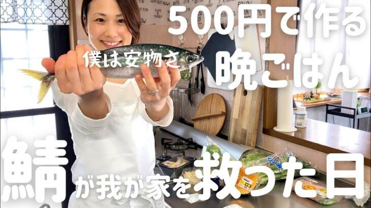 【節約晩ごはん】アラフォー主婦が500円で作る4人家族の晩ごはん