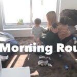 【Routine】2児のママモーニングルーティン☀️~後編~ ワンオペ育児/1歳2歳ママ
