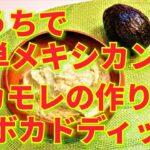 ★レシピ動画★おうちで手軽にメキシコ料理☆簡単♪アボカドディップ(ワカモレ)★【hirokoh(ひろこぉ)のおだいどこ】