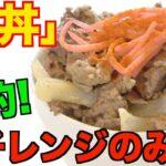 【一人暮らし】簡単自炊レシピ!牛丼が電子レンジのみで料理未経験でも作れちゃう!
