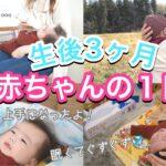 【生後3ヶ月】赤ちゃんとママの1日のスケジュール【完ミ】ルーティン|主婦|3 months old baby