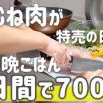 【リアル節約晩ごはん】アラサー主婦が2日間700円で作る2人暮らしの節約ボリューミー晩ごはん