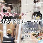 【平日ルーティン】30代主婦/小学生ママ/新学期スタート