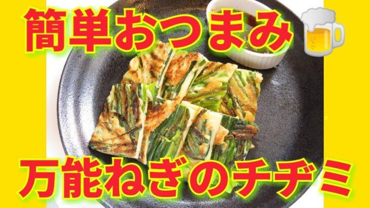 ★レシピ動画★おつまみに🍺簡単韓国料理♪基本の万能ねぎのチヂミ★【hirokoh(ひろこぉ)のおだいどこ】