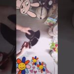 ゴミ袋節約動画/お花開き