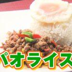 【本格タイ料理レシピ】お家で簡単にガパオライスをつくる方法とは!?「マニータイ」
