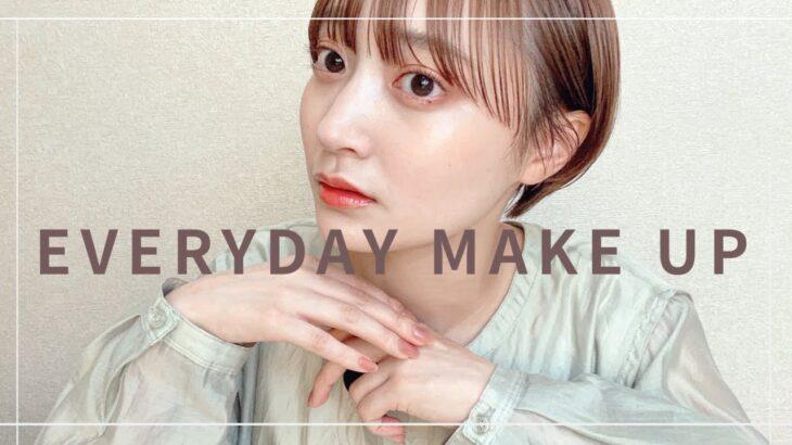 【毎日メイク】色素薄い系/コーラルメイク/ナチュラルコスメ