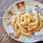 【くさみなし!】自家製イカの塩辛のレシピ・作り方