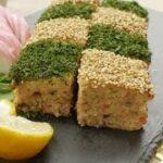 おせち料理の定番! 市松模様の 松風焼き のレシピ 作り方