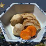 くるま麩と小芋の煮物 作り方 簡単 レシピ 家庭料理の作り方 煮物料理の作り方 簡単ハウツー レビュー チュートリアル プレゼンテーション動画 美味しい 人気 家庭料理 ダイエット料理 [料理レシピ]