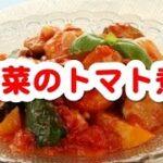 聞き流し料理レシピ (簡単料理レシピ ☆ 野菜のトマト煮)
