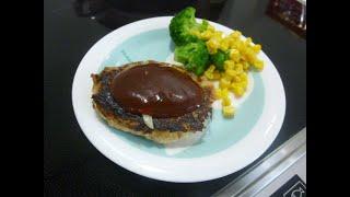 【レシピ】簡単で子供にも大人気☆ハンバーグの作り方