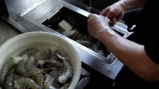 中華料理レシピ エビの下準備 エビチリの作り方簡単中華料理教室