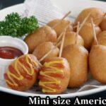 アメリカンドックの作り方☆ホットケーキ&材料4つで簡単!一口サイズの可愛いミニアメリカンドックです♪-How to make American Dock-【料理研究家ゆかり】【たまごソムリエ友加里】