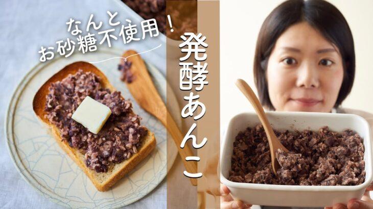 【お砂糖いらず優しい甘さ!】発酵あんこのレシピ・作り方
