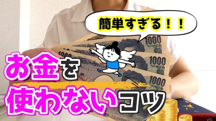 【貯金】節約術おしえます!簡単すぎるコツ/お金を使わない生活/家計簿