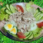 冷しゃぶ レシピ 作り方 簡単 豚の冷しゃぶ 家庭料理の作り方 レビュー チュートリアル 美味しい 人気 家庭料理 料理 [料理レシピ]