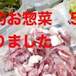家庭料理 主婦vlog  Japanese 節約お惣菜 5種作りました♪