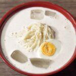 """【コングクスのレシピ】韓国の夏の定番料理""""豆乳冷ソーメン"""" コングクス作り方 4Kビデオ"""