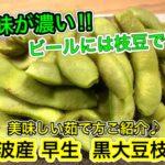 【さくっと簡単料理 ♯538】黒大豆枝豆の美味しい茹で方紹介レシピ